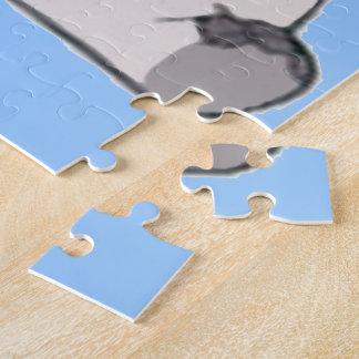 Pequeño elefante lindo puzzle