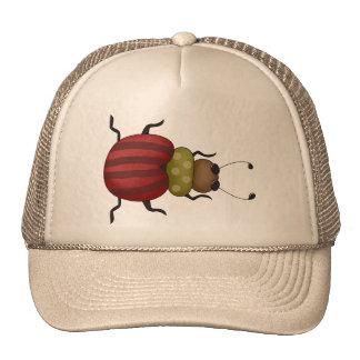 Pequeño escarabajo gorras de camionero