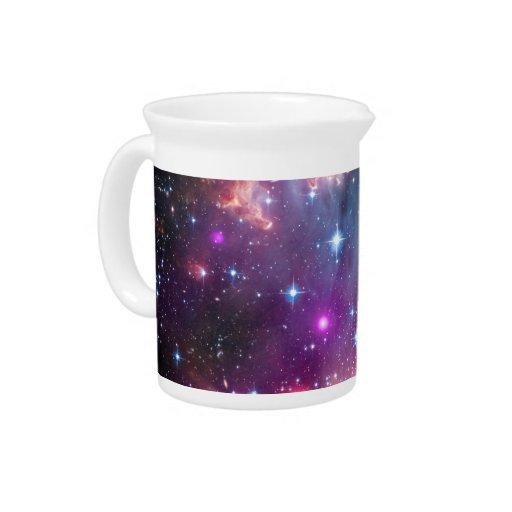 Pequeño espacio de la galaxia de la nube de Magell Jarra Para Bebida