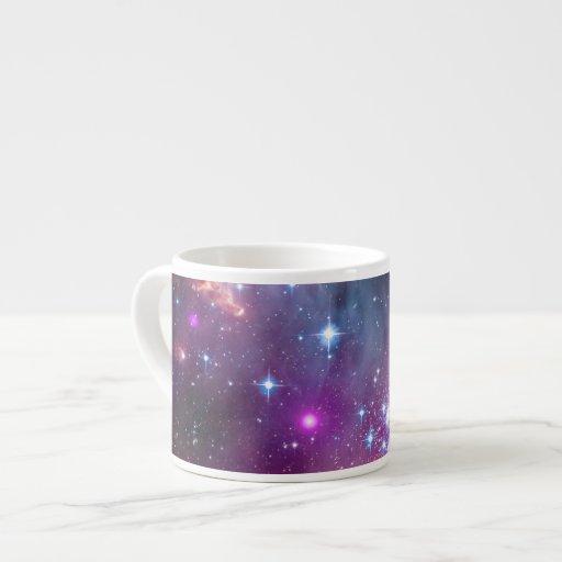 Pequeño espacio de la galaxia de la nube de Magell Taza Espresso