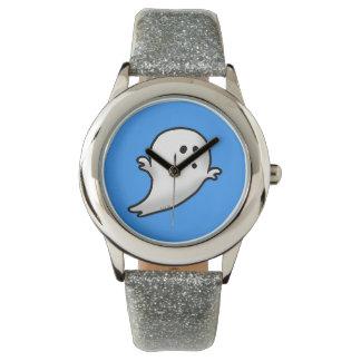 Pequeño fantasma lindo relojes