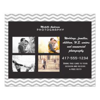 Pequeño folleto para el negocio de la fotografía flyer personalizado