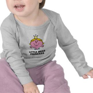 Pequeño fondo de la corona de la Srta. princesa el Camiseta