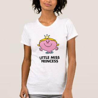 Pequeño fondo de la corona de la Srta. princesa el T-shirts