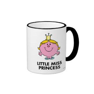 Pequeño fondo de la corona de la Srta. princesa el Taza A Dos Colores