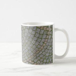 Pequeño fondo de la textura de las tejas de la ace taza