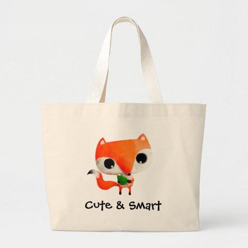 Pequeño Fox lindo Bolsas De Mano