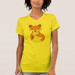 Pequeño Fox lindo Camiseta