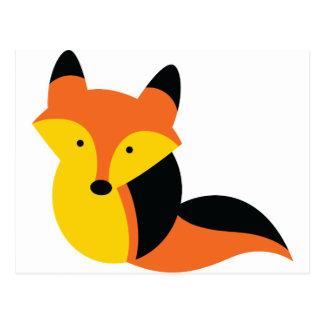 Pequeño Fox lindo Postal