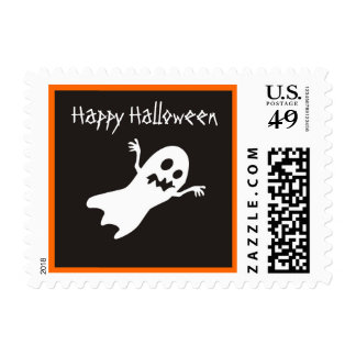 Pequeño franqueo del fantasma del feliz Halloween Estampillas