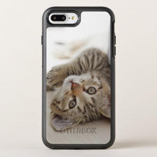 Pequeño gatito lindo funda OtterBox symmetry para iPhone 7 plus