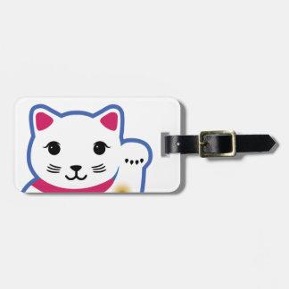 Pequeño gato afortunado, Maneki-neko, 招き猫 Etiquetas Bolsa