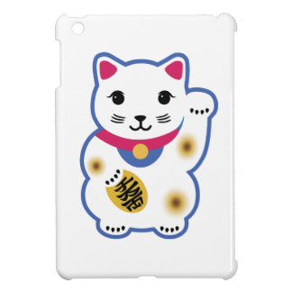 Pequeño gato afortunado, Maneki-neko, 招き猫 iPad Mini Fundas