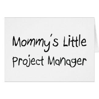 Pequeño gestor de proyecto de Mommys Tarjetas