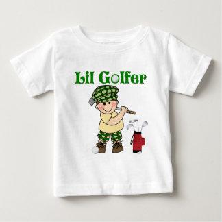 Pequeño golfista playera de bebé
