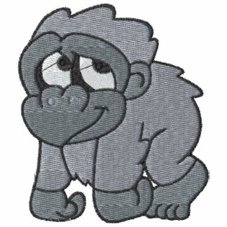 Pequeño gorila lindo polo