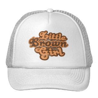Pequeño gorra del chica 08 de Brown