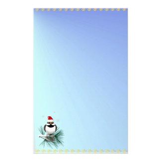 Pequeño gorrión de Santa inmóvil Papeleria
