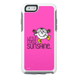 Pequeño gráfico de Srta. Sunshine Walking On Name Funda Otterbox Para iPhone 6/6s