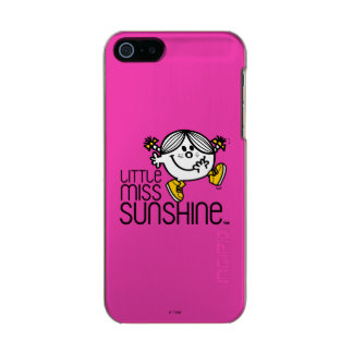 Pequeño gráfico de Srta. Sunshine Walking On Name Funda Para iPhone 5 Incipio Feather Shine