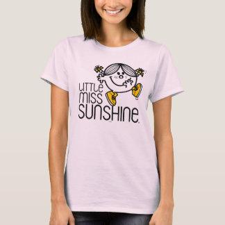Pequeño gráfico de Srta. Sunshine Walking On Name Playera