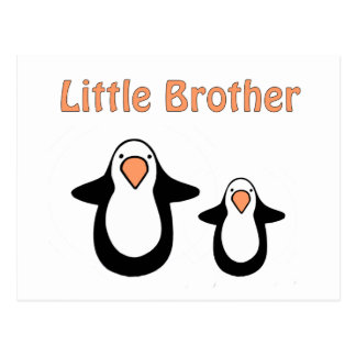 pequeño hermano del pingüino postal