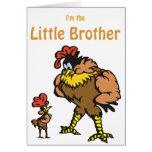 pequeño hermano del pollo felicitacion
