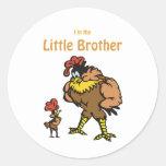 pequeño hermano del pollo pegatina