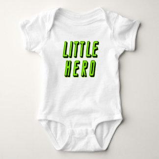 Pequeño héroe del héroe grande body para bebé