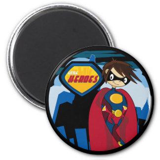 Pequeño imán del super héroe de los héroes