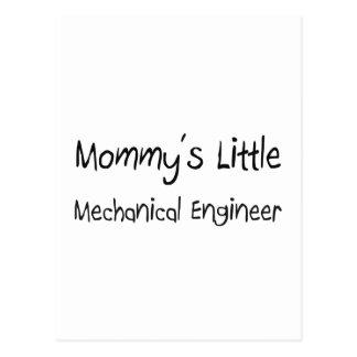 Pequeño ingeniero industrial de Mommys Tarjeta Postal