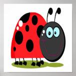 pequeño insecto feliz de la señora impresiones