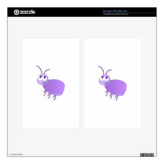 Pequeño insecto kindle fire pegatinas skins