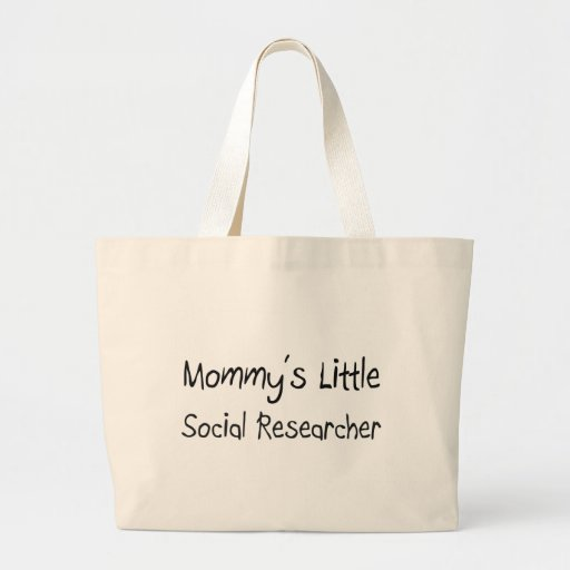 Pequeño investigador social de Mommys Bolsa Tela Grande