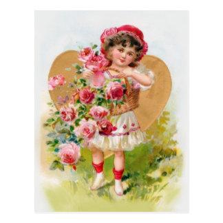 pequeño jardinero tarjetas postales