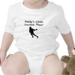 Pequeño jugador de LaCrosse del papá Traje De Bebé