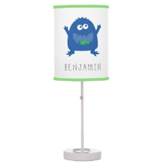 Pequeño lámpara personalizada monstruo lindo