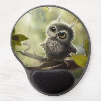 Pequeño lechuza, Little Owl/ Alfombrillas De Raton Con Gel
