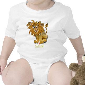 Pequeño Leo el león para los niños Camisetas