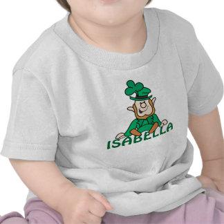 Pequeño Leprechaun - añada su propio texto Camisetas