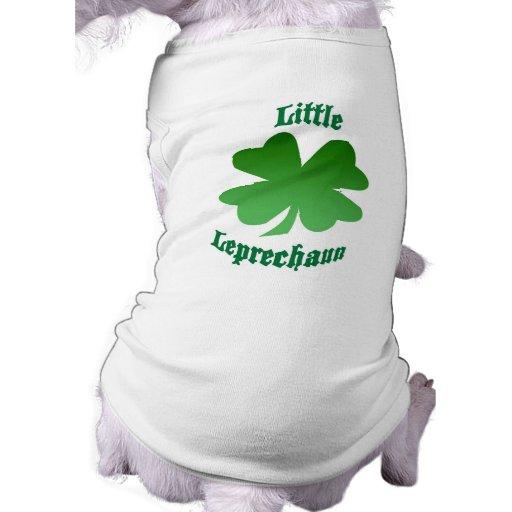 Pequeño Leprechaun Camisas De Perritos