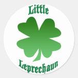 Pequeño Leprechaun Etiqueta