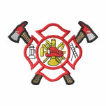 Pequeño logotipo #2 del fuego camiseta polo
