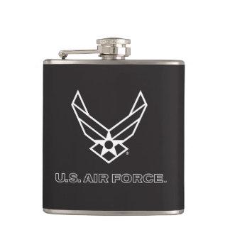 Pequeño logotipo negro de la fuerza aérea con el