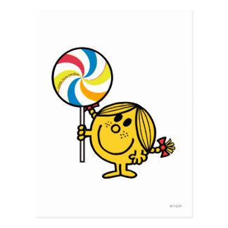 Pequeño Lollipop gigante de Srta. Sunshine el | Postales