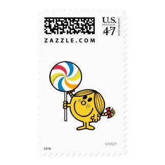 Pequeño Lollipop gigante de Srta. Sunshine el | Timbre Postal