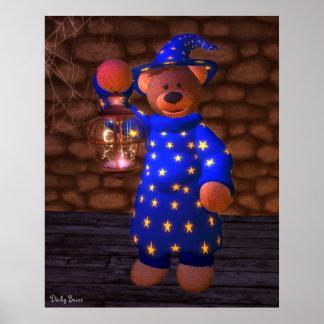 Pequeño mago de los osos pequeños impresiones