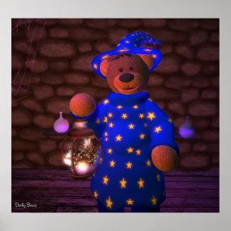 Pequeño mago de los osos pequeños posters