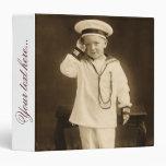 Pequeño marinero del vintage