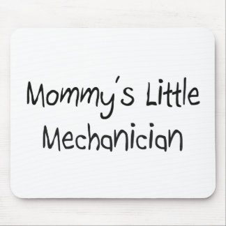 Pequeño mecánico de Mommys Tapete De Ratones